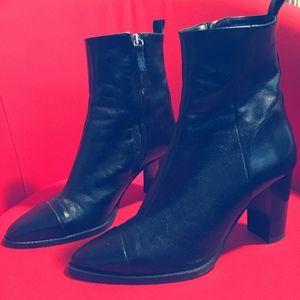 *Worn Once* Faux Leather Zara Boots
